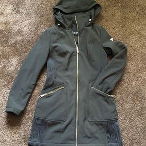 Dark Green Guess Winter Coat
